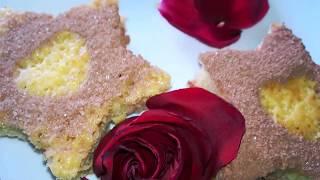 Бисквитные пирожные рецепт.Как сделать пирожное.Вкусный и нежный бисквит.