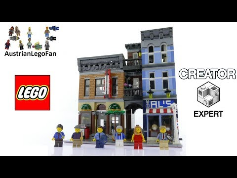 Lego Creator 10246 Detective´s Office - Lego Speed Build Review