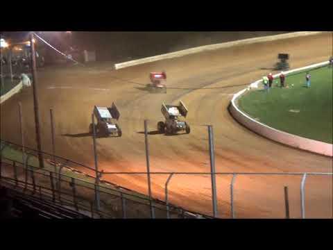 AJ Flick 410 Sprint Port Royal Speedway August 26, 2017