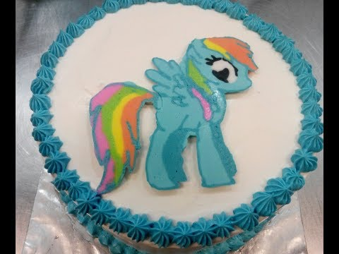 My Little Pony Cara Membuat Kue Ulang Tahun Karakter My Little Pony Youtube