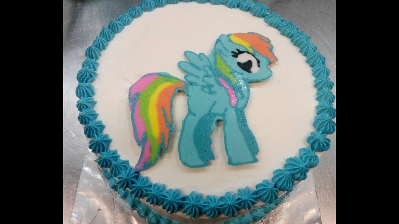 My Little Pony Cara Membuat Kue Ulang Tahun Karakter My Little Pony