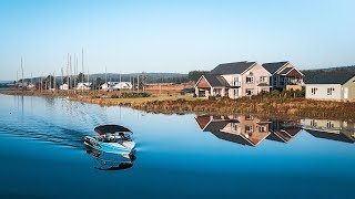 World's Most Reflective Water: Waterski Heaven