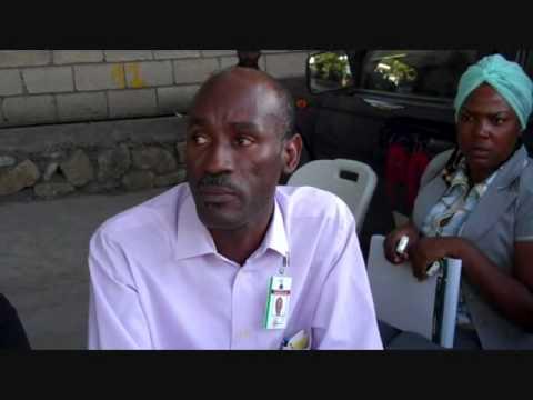 Haiti Earthquake: Declaration du Ministre des Finances et de l'Economie