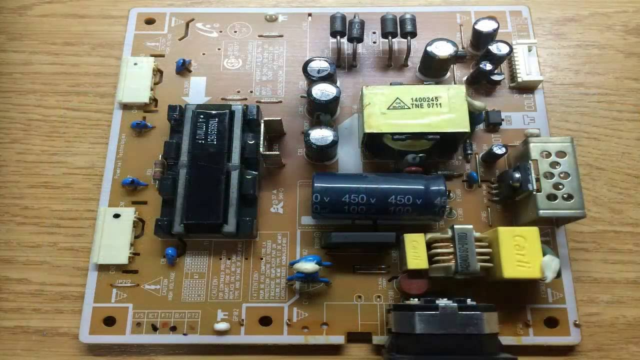 How to repair Samsung SyncMaster 740N black screen after few minutes  YouTube
