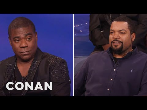 Tracy Morgan Compares Ice Cube To Darth Vader  - CONAN on TBS