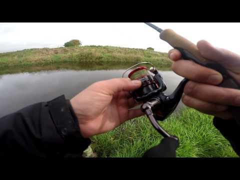 Boyne River (Ireland) Trout fishing. Ловля Форели на спининг в Ирландии