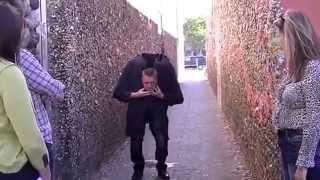 Craziest Scare Prank Trick Ever! Magician Sneezes Head Off!