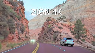 Zion National Park 4K - Scenic Drive