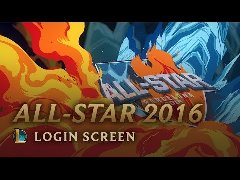 AllStar Barcelona 2016  Login Screen  League of Legends