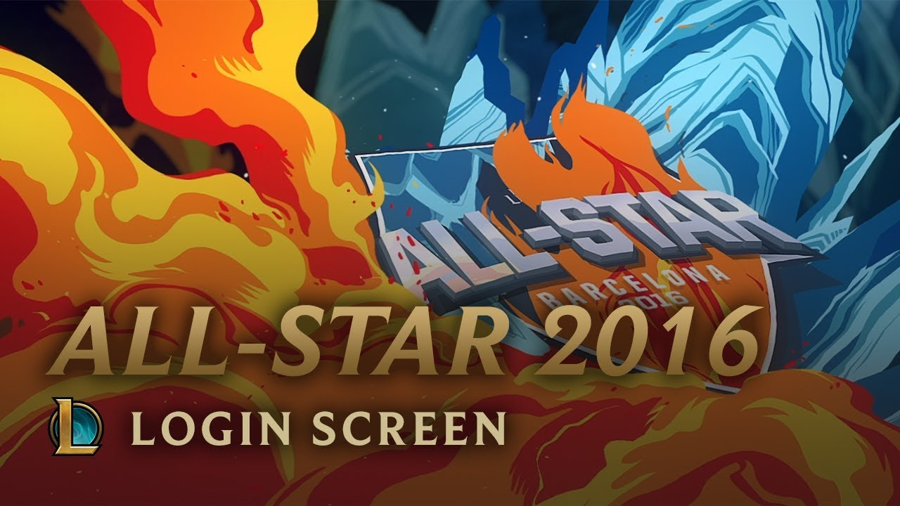 All-Star Barcelona 2016 | Login Screen - League of Legends