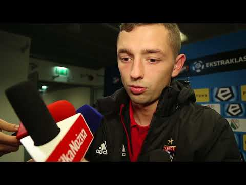 Legia - Górnik 1:0. Mateusz Wieteska po meczu