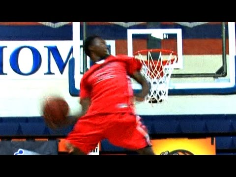 Kwe Parker is NOT Human! Best Missed Dunk Ever??