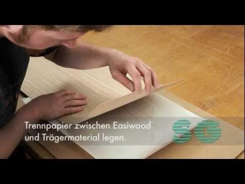 Schorn Groh Easy Furnieren Mit Easiwood Produktvorstellung