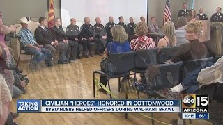 3 men recognized for helping Cottonwood police officers after attacked by family