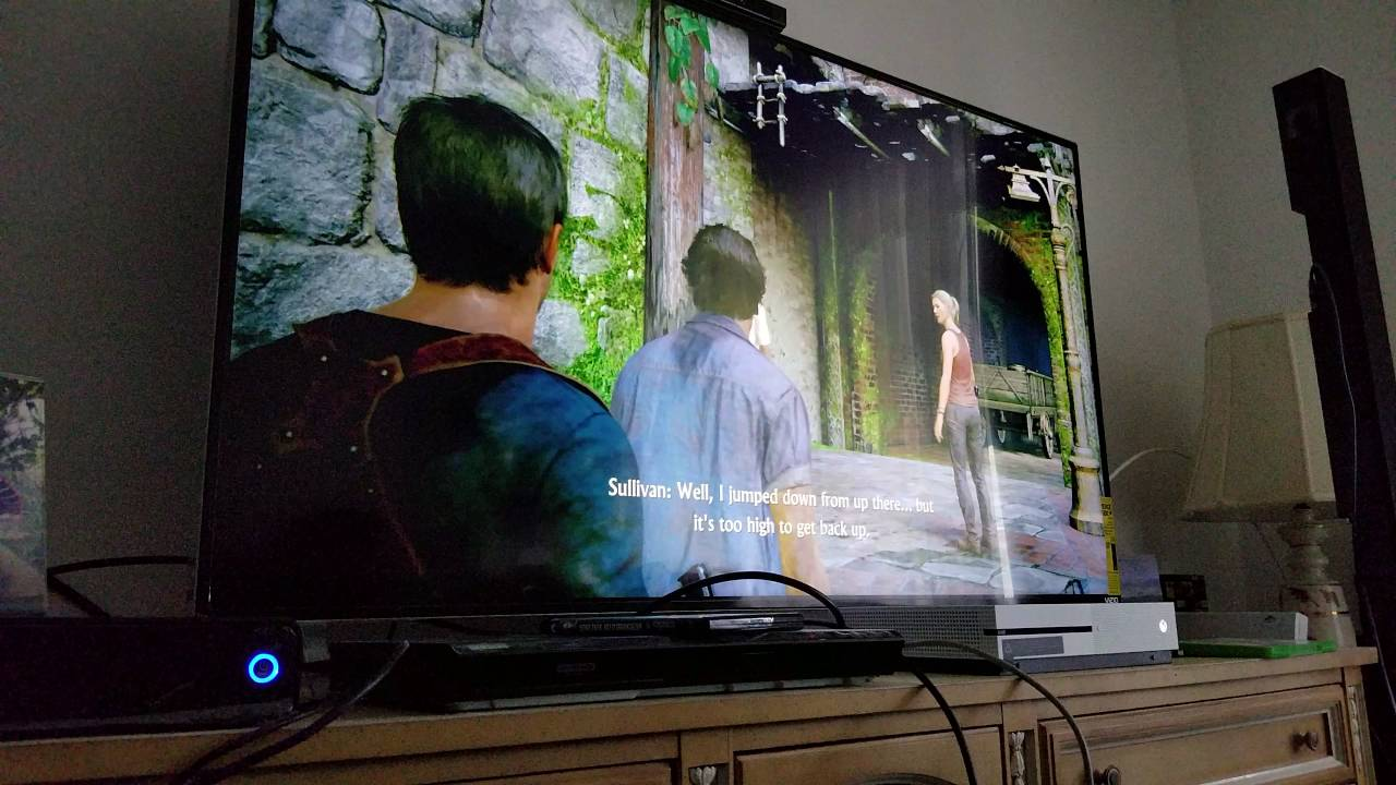 Uncharted 4 A Thief S End Upscaled To 4k On Xbox One S My