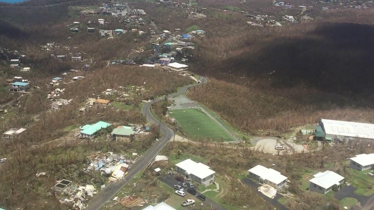 St John Island After Hurricanes