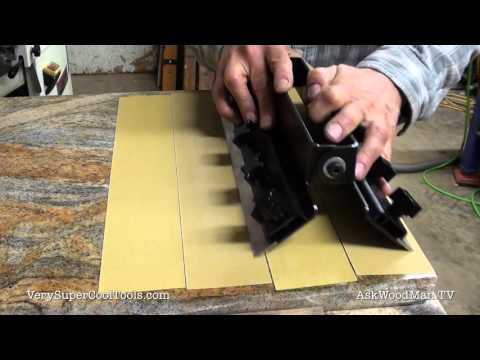 986. Planer / Jointer Knife Sharpening Jig • Video 5 of 8