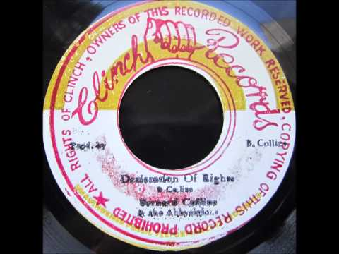 Bernard Collins and The Abbysinians - Declaration of Rights / Musical Rights