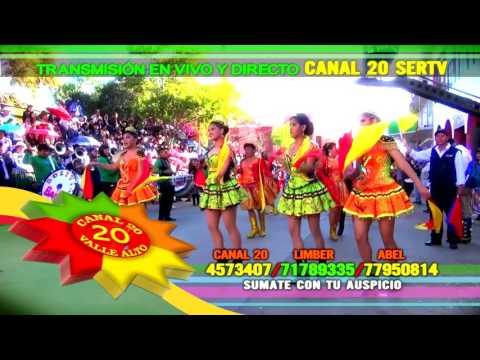 """AVANCE TRANSMISIÓN EN VIVO FESTIVIDAD VIRGEN DEL CARMEN CLIZA 2017 """"POR CANAL 20 SERTV"""""""