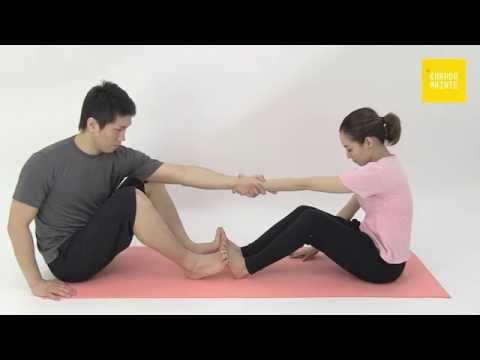 28広背筋のストレッチ指導法