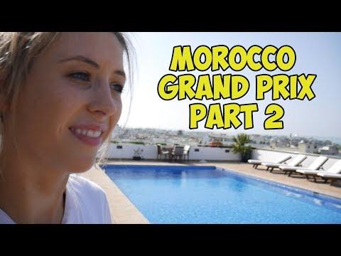 MOROCCO GRAND PRIX  PART 2 | JADE JONES VLOG