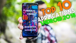 Top 10 des applications android 05/2018 + Concours