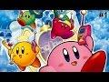 4 Kirby, 1 Juego - Kirby Y El Laberinto De Los Espejos - Capitulo 1 - CJGamerYT