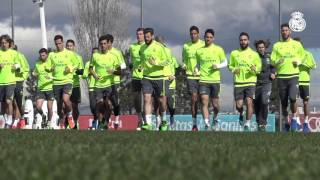 Super Marcelo and James Rodríguez strikes light up Real Madrid training session!