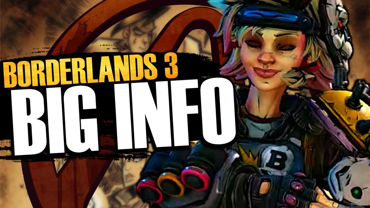 Borderlands 3 BIG INFO! Tiny Tina's Origin Revealed, PC Gamer Cover Story,  & More!