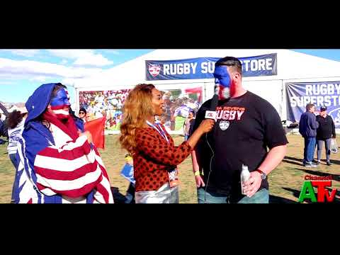 US Sevens Rugby Fans Channel A TV Highlights Hosted By Othelia Joy