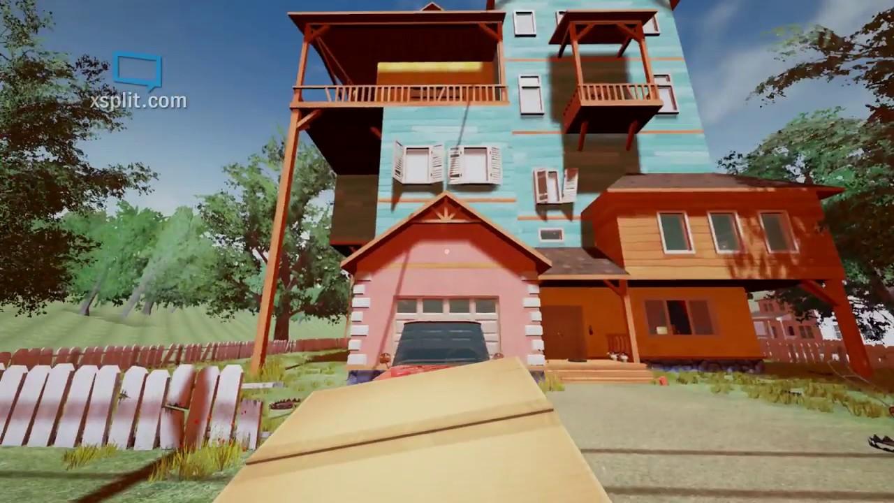 The hello neighbor house - Hello Neighbor Part 4 Alpha 1