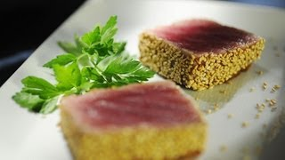 Sesame-crusted Ahi Tuna With Michelle Branch - Cook Taste Eat Ep. 2