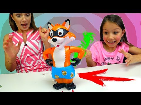БЕЗ ШТАНОВ ЧЕЛЛЕНДЖ Challenge Catch The Fox Game For Kids /// Вики Шоу