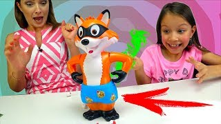 - БЕЗ ШТАНОВ ЧЕЛЛЕНДЖ Challenge Catch The Fox Game For Kids Вики Шоу