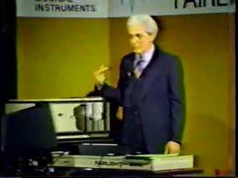 Bob Moog Fairlight part 2