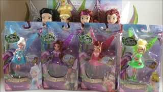 Disney Fairies The Pirate Fairy  Gem Collection: Tinker Bell, Zarina, Periwinkle, Rosetta