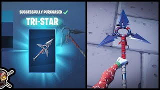 *NEW* TRI-STAR Tool and SLAP HAPPY Emote in Fortnite!
