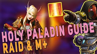 BfA 8.3 HOLY PALADIN GUIDE (RAID & M+) | Glimmer Gameplay, Talents, Stats & Corruption | WoW BfA 8.3