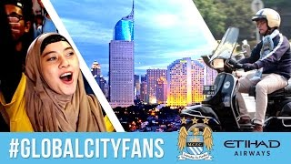 Incredible Man City Fans in Indonesia - The Thirteenth Man  | #GlobalCityFans