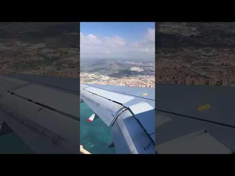 Videos emerged of British Airways #BA492 performing unstable go-around at Gibraltar