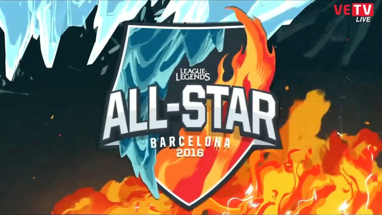 FIRE vs ICE - 5 Leesin vs 5 Leesin - Một Cho Tất Cả | AllStar 2016 - Liên  Minh Huyền Thoại