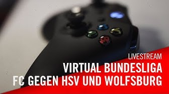 Livestream: Hamburger SV - 1. FC Köln | 1. FC Köln - VfL Wolfsburg | Virtuelle Bundesliga | VBL