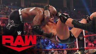 RK Bro vs Bobby Lashley MVP Raw Tag Team Championship Match Raw Aug 30 2021