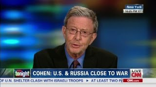 Cohen: 'Deep in a new Cold War'