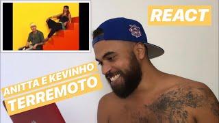 Baixar Anitta & Kevinho - Terremoto REACT | REAÇÃO