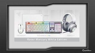 Razer Mercury  - prezentacja nowej linii akcesoriów w kolorze białym