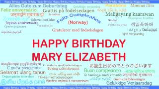 MaryElizabeth   Languages Idiomas - Happy Birthday