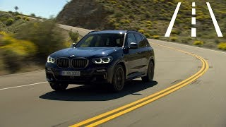 BMW X3: Steering and lane control assistant with Lane Keeping Assistant :: [1001cars]