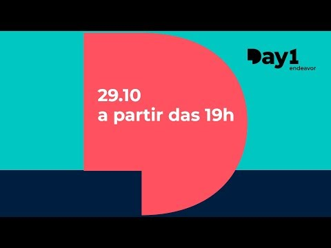 Day1 | Semana Global do Empreendedorismo 2018 - Assista ao-vivo