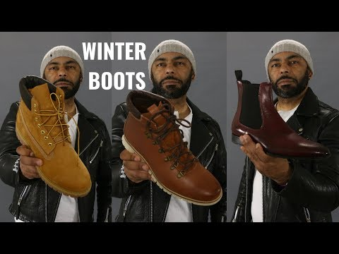 Top 6 Winter Boots Men Need/My Winter Boot Collection